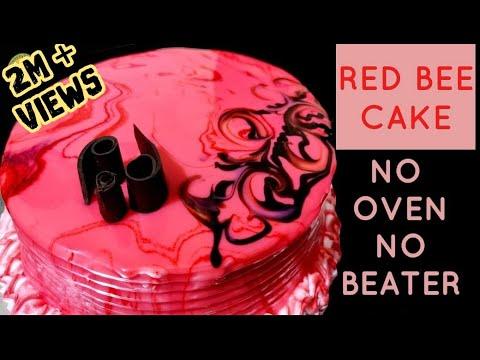 മിക്സിയിൽ-ഒരു-perfect-red-bee-cake|-no-oven-|no-beater|-red-bee-cake|-cake-recipes|red-b|ep.-#182