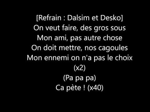 MAFIA SPARTIATE - ÇA PÈTE - Paroles