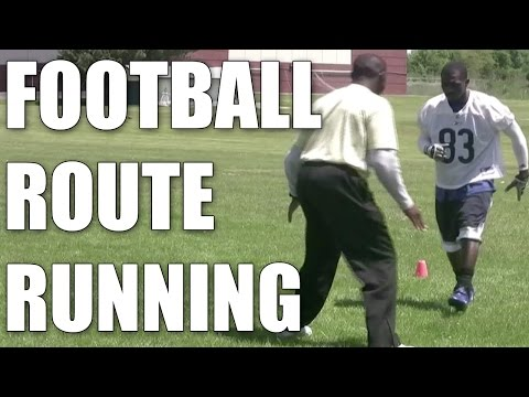 Wide Reciever Route Running with Wendell Davis