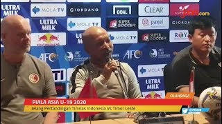 Piala Asia U-19 2020: Indonesia vs Timor Leste Malam Ini - JPNN.com