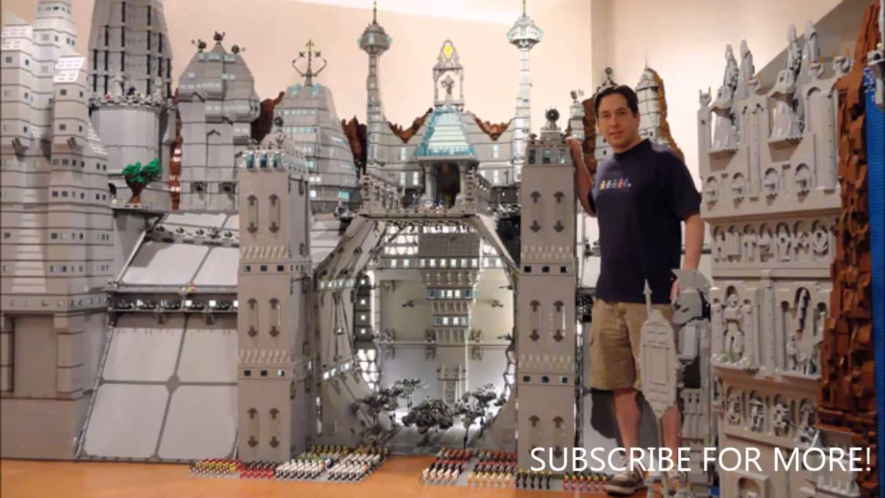 How To Build Big Lego Creations