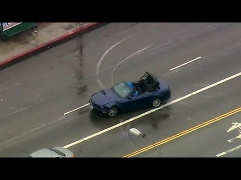 Bizarre Los Angeles Car Chase Gets Wilder By The Second