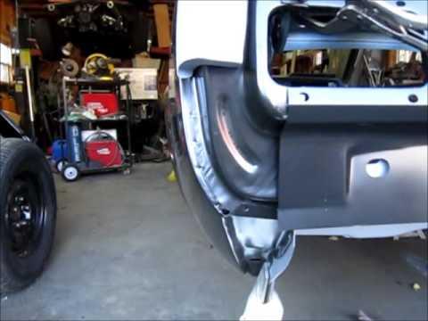 Rear Quarter Panel Removal Part 1 Doovi