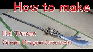 How to make a Green Dragon Crescent -