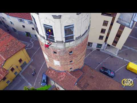 KONG - Training course for rope access on historic and iconic buildings