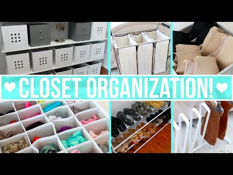 Closet Organization Ideas!<a href='/yt-w/yFav4cKHvqc/closet-organization-ideas.html' target='_blank' title='Play' onclick='reloadPage();'>   <span class='button' style='color: #fff'> Watch Video</a></span>