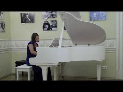 С.Рахманинов, Прелюдия №2 Cis-moll, Op.3. Исп.Дарья Котельникова