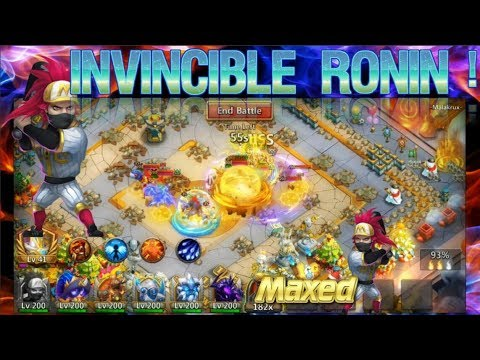 INVINCIBLE RONIN!! - Castle Clash