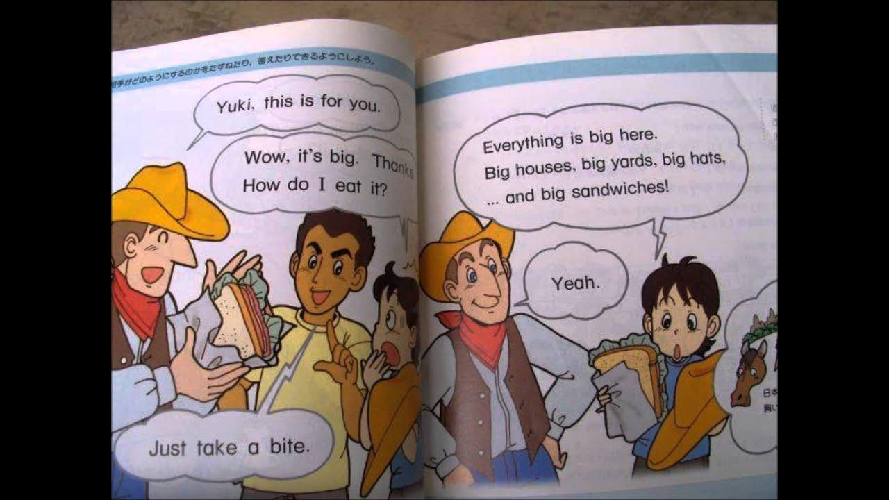 Sunshine English Textbook: sandwiches