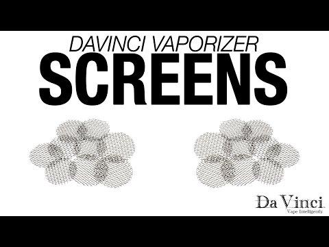 DaVinci Vaporizer – Screens Overview