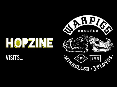HopZine visits War Pigs in Copenhagen (Mikkeller and Three Floyds brew pub)