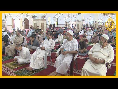 سكان قطاع غزة يؤدون صلاة الجمعة في المساجد لأول مرة منذ شهرين  - 00:58-2020 / 5 / 23