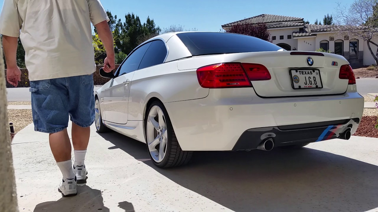 Bmw 335i Hard Top Roof To Convertible In 22 Seconds