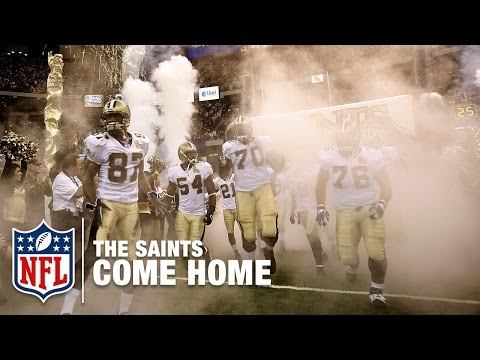 2006 Saints Surprise the Falcons in Reopening of Superdome Post Katrina   #ThrowbackThursday   NFL