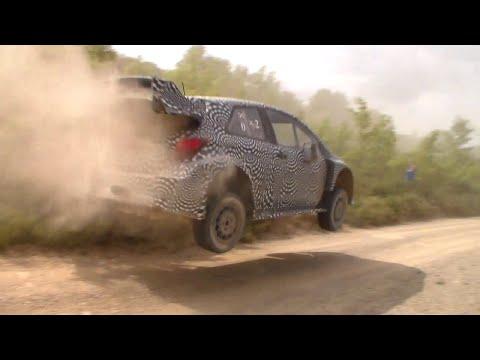 Test Toyota Yaris WRC 2017 | Tommi Mäkinen | Spain | Day 3