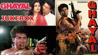 Ghayal 1990 audio jukebox all mp3 full songs, sunny deol, meenakshi sheshadri --- * disclaimer i do not own any songs/musics found in this video. *...