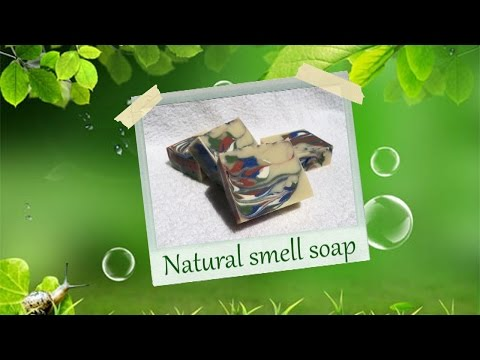 Gentle Homemade Soap with Natural Scent - Unscented soap - Making Coconut Milk Soap