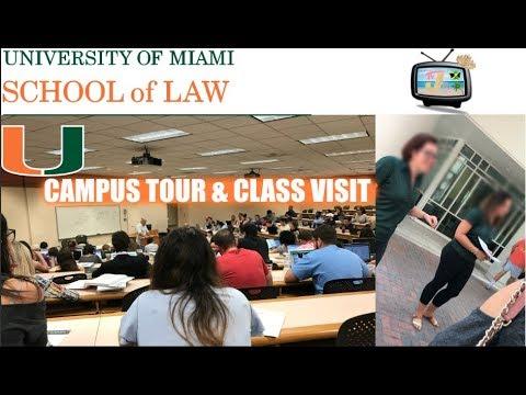 Law School Tour Vlog #1: U Miami Law