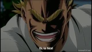 [Boku no Hero Academia] All Might vs Nomu (sub español).