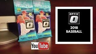 2018 Optic Baseball Hanger Packs