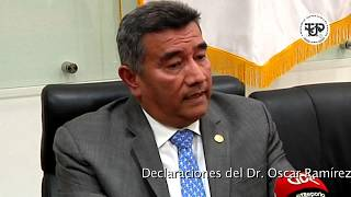 Declaraciones del Dr. Oscar Ramírez, en Conferencia de Prensa, elecciones universitarias 2018 – 2023
