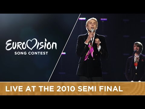 Malcolm Lincoln - Siren (Estonia) Live 2010 Eurovision Song Contest
