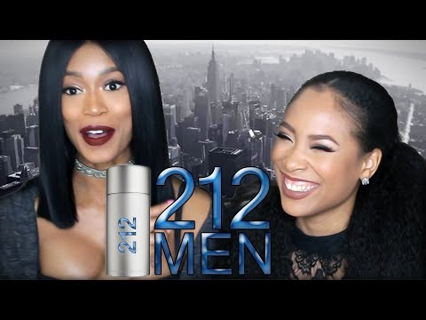 Tashi Tuesday's: Carolina Herrera 212 MEN - Men's Fragrance First Impressions by Vava Couture