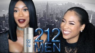 Tashi Tuesday's: Carolina Herrera 212 MEN - Men's Fragrance First Impressions by Vava Couture
