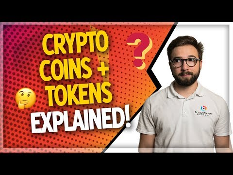 Cryptocurrency Tokens Vs Coins (The KEY Difference!)