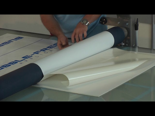 Mounting and Cleaning - Colex Bubble Free Applicator