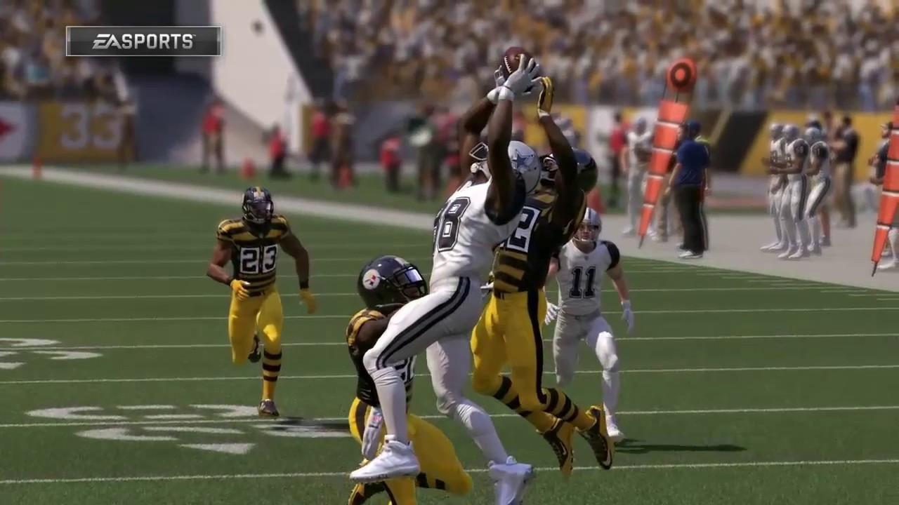 Madden 17 Dez Bryant Best Catches Compilation 1 Greatest Catches And Sick Touchdown Grabs
