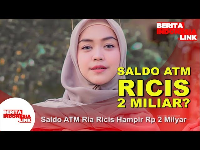 Saldo ATM Ria Ricis Hampir Rp 2 Milyar