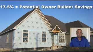 Owner Builder Savings