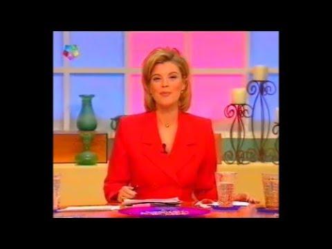 La Joven Terelu Campos Presenta Con T De Tarde Noviembre 1998 Telemadrid Youtube