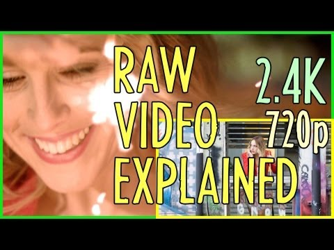 RAW Video Files Explained (Blackmagic Cinema Camera) : Indy News