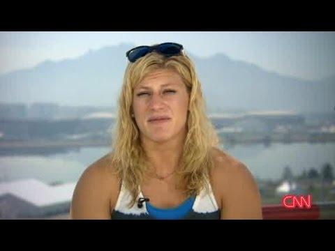 CNN Interviews Kayla Harrison