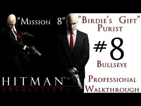 Hitman Absolution - Professional Walkthrough - Purist - Part 2 - Mission 8 - Birdie's Gift