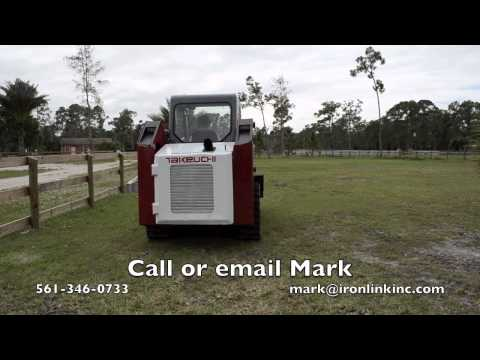 2005 Takeuchi TL130 compact track loader for sale by Ironlink Inc SOLD