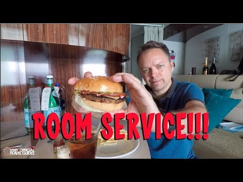 Cruise Ship Room Service - Entire Experience - NCL Epic Mukbang