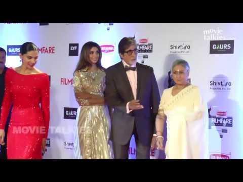 61st Britania Filmfare Awards 2016 Show Red Carpet | Salman Khan, Shahrukh Khan, Deepika Padukone