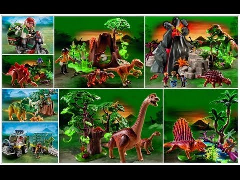 Playmobil dinosaure dinos youtube - Dinosaur playmobile ...