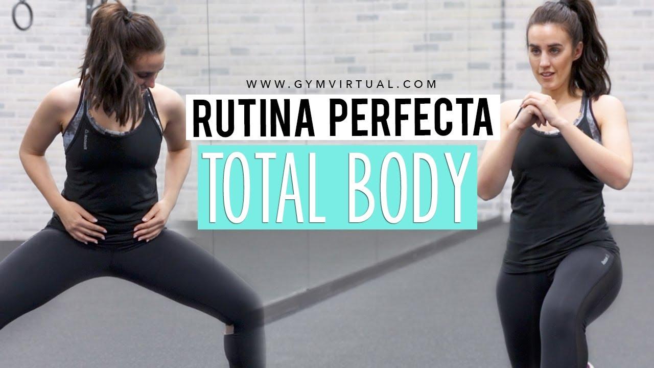 Rutina de ejercicios para bajar de peso en gimnasio total body