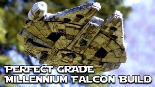 Millennium Falcon -  Perfect Grade Build - Time Lapse