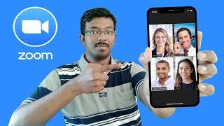 Zoom App பயன்படுத்துவது எப்படி - How to Use Zoom App