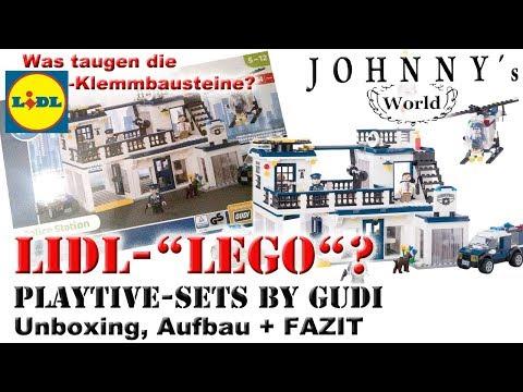 Lego Klon Von Lidl Playtive Polizeistation 1999 Usw Mydealzde