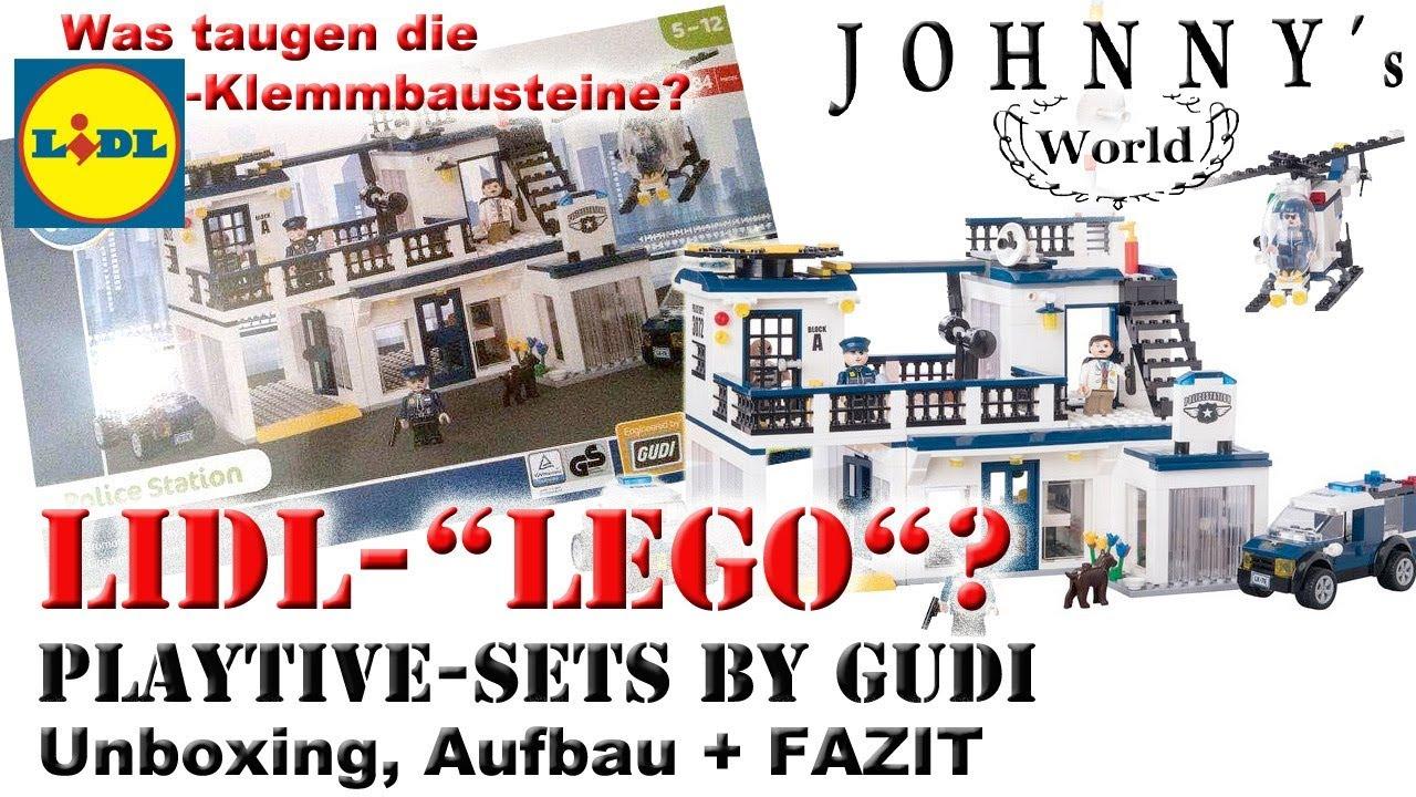 Lidl Lego Was Taugen Die Playtive Sets Von Gudi Unboxing Aufbau
