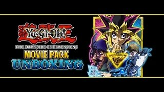 YuGiOh Darkside of Dimensions Movie Pack Unboxing - NEW Blue-Eyes & Dark Magicians