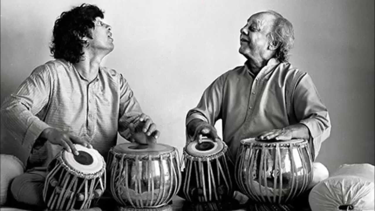 Zakir Hussain and Alla Rakha jugalbandi