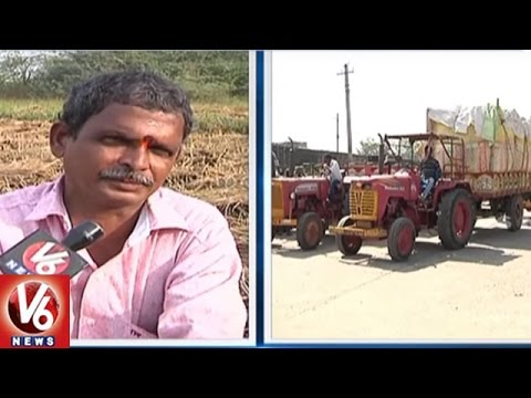 Currency Demonetization Effect On State Farmers   Kharif Season   V6 News