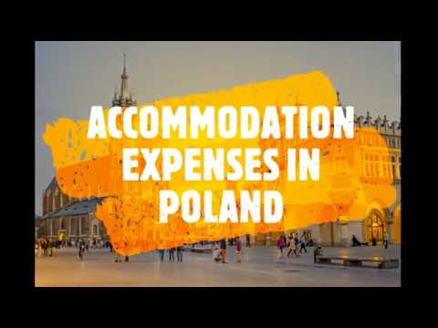 Living expenses in POLAND | LIFE IN POLAND | ROOM EXPENSES | Accommodation expense